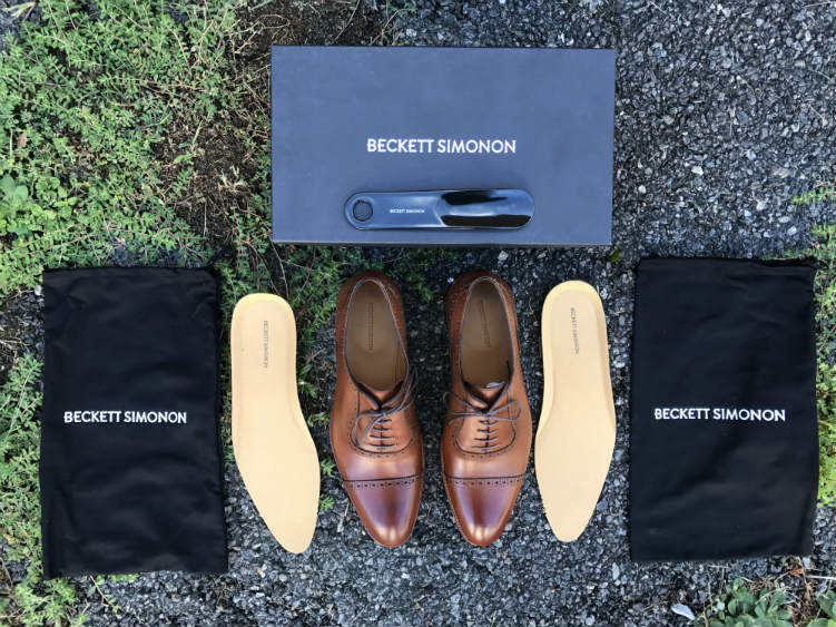 Beckett Simonon shoes and dust bags