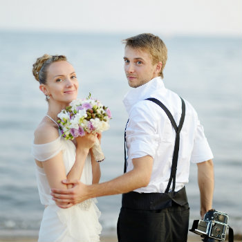 Married-Couple-On-Beach