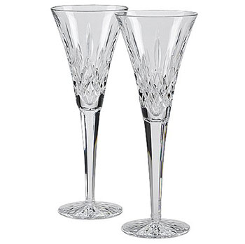 Waterford Classic Lismore Best Champagne Flutes