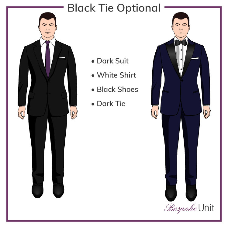 bbfb66c8330 What To Wear To A Black Tie Optional Event. Black-Tie-Optional