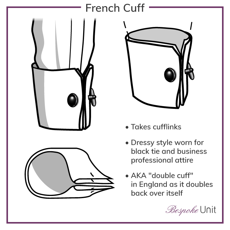 French-Cuff-Shirt Cuff Graphic