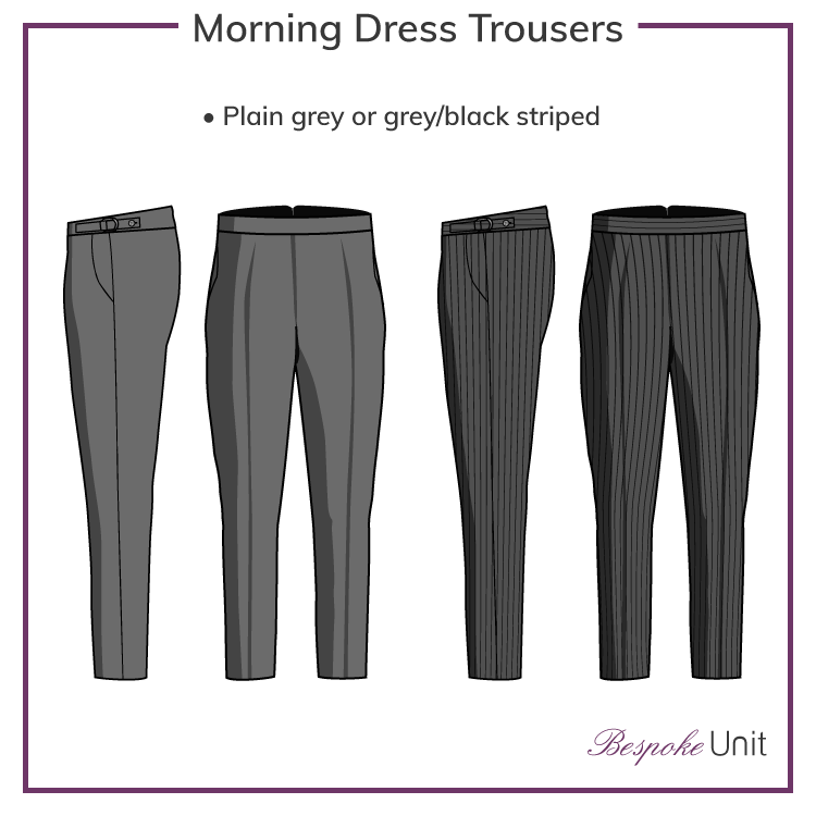 Morning-Dress-Trouser-Styles