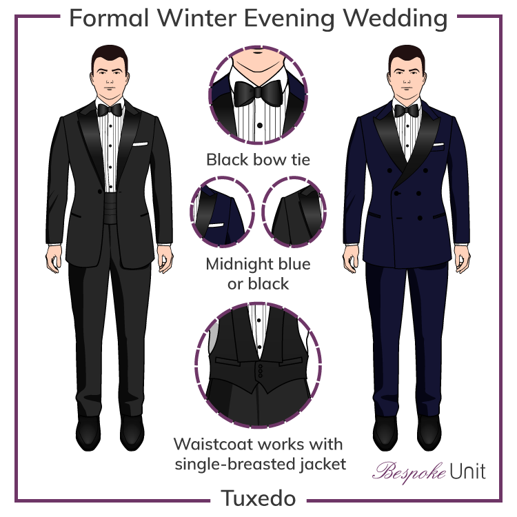Formal Evening Weddings Black Tie