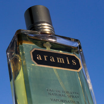 Aramis Bottle Sky Background