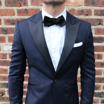 Tuxedo jacket and shirt front