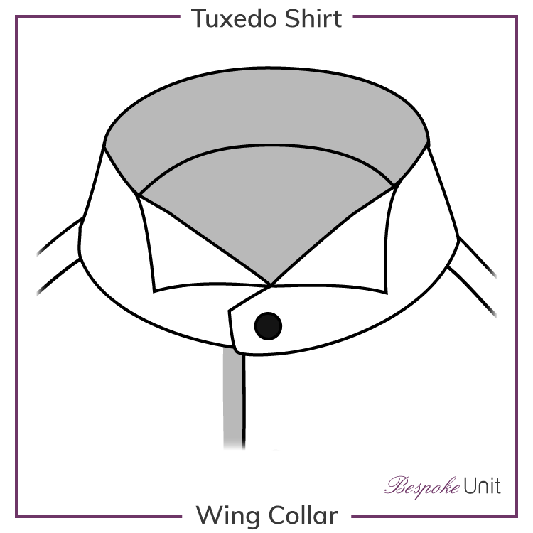 Wing-Collar Shirt graphic