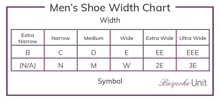 Inch Foot Shoe Size