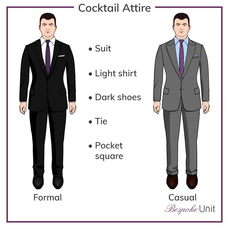 Cocktail Attire For Men | What To Wear To A Cocktail Party Or Wedding