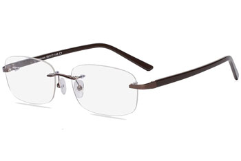 eyebuy direct vernon rimless glasses