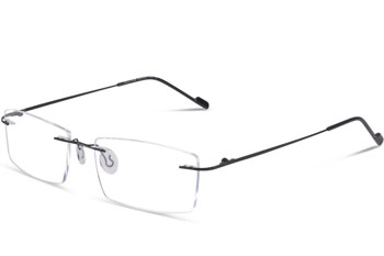 glasses usa henry black rimless glasses