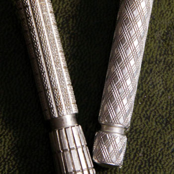knurled chrome grips for safety razors