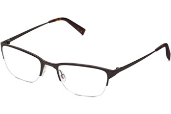 warby parker caldwell semi rimless glasses