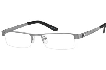 zenni optical semi rimless glasses