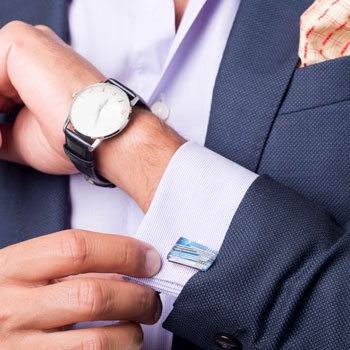 A-Man-Wearing-Flashy-Cufflinks-&-Watch