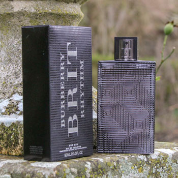 Burberry Brit Rhythm On Stone Wall