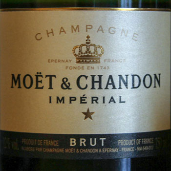 Moet et Chandon Imperial brut label