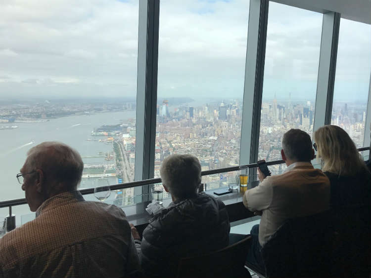 One Dine Bar At Top Of World Trade Center Building