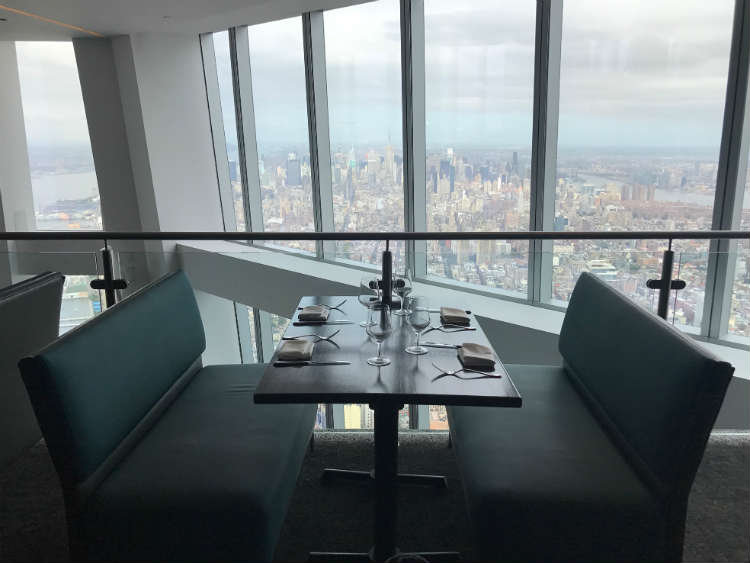 Table At One Dine Restaurant In Freedom Tower