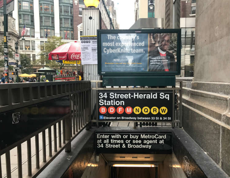 34 Street-Herald Square Station NYC Subway