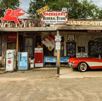 American Gas Station Convenience Store