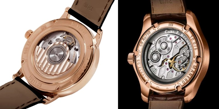 Carl F Bucherer Central Versus Peripheral Rotor