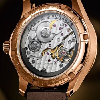 Carl F Bucherer Open Case Back Movement