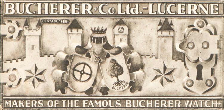 Carl F Bucherer Vintage Bucherer Watch Advert