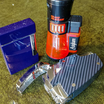 Different Butane Lighters For Cigars