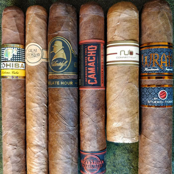 Different Cigar Brands & Bands