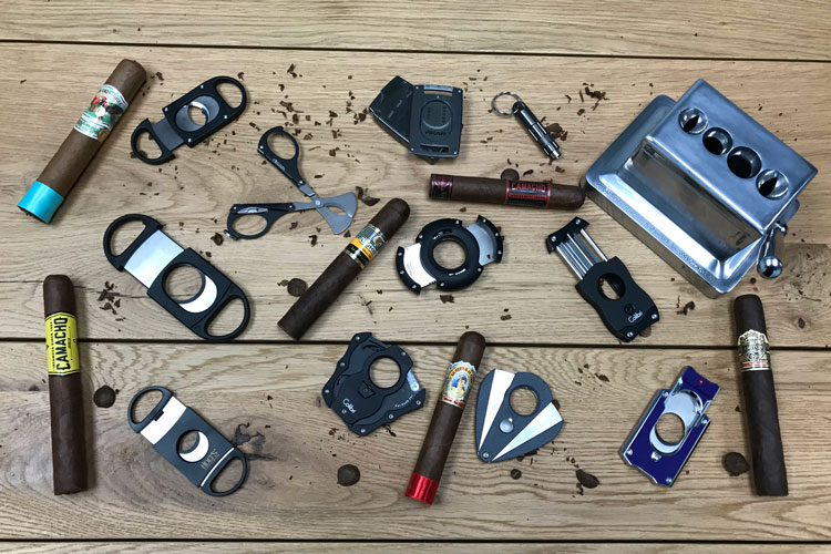 Different Tested Cigar Cutters