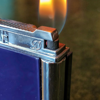 Dupont Lighter Flame Close Up