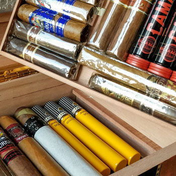 Inside A Cigar Humidor Storage Conditions