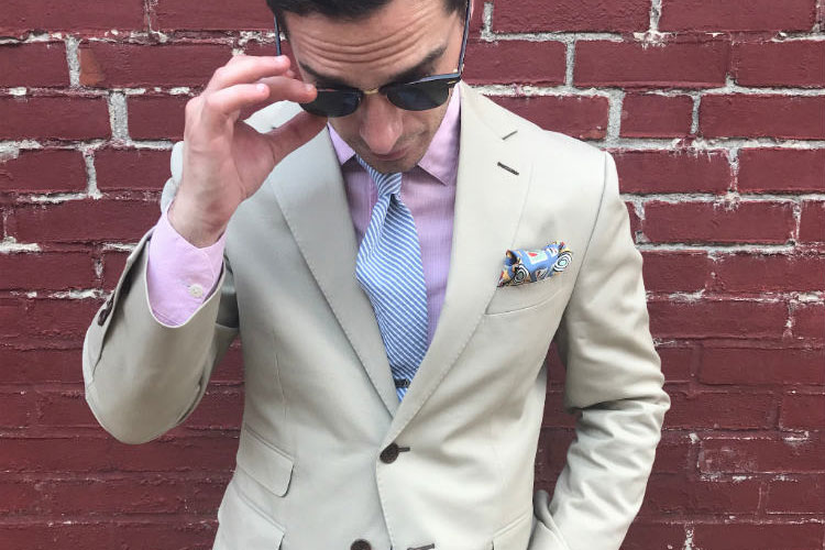 Man-In-Khaki-Suit-&-Sunglasses