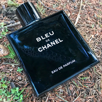 Bleu de Chanel Bottle In The Snow