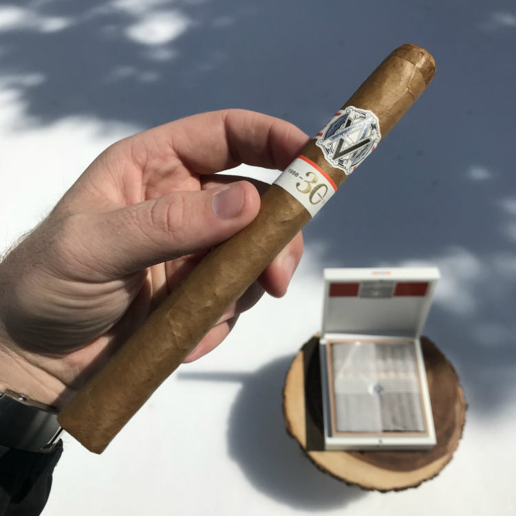 Double Corona size of Avo 30th Cigar