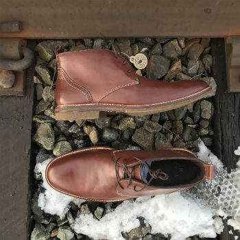J&M Chukka Forrester Boots Side View