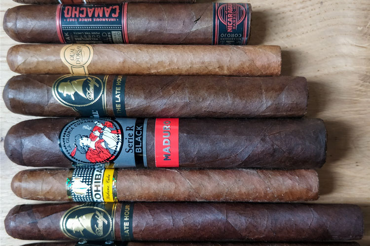 Row-Of-Featured-Cigars