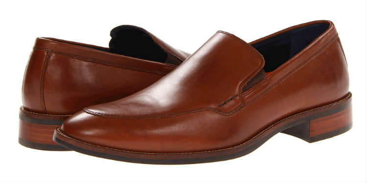Cole Haan Brown Leather Venetian Loafer