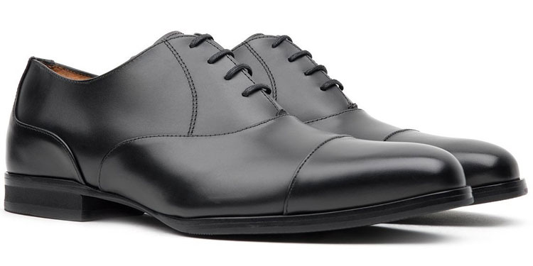 Wolf & Shepherd Closer Cap Toe Oxford Shoe