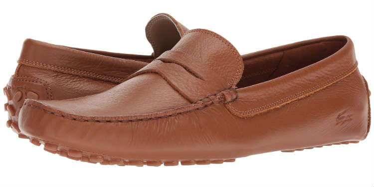 Mens Boat Shoe Classic Look Driving Shoe Work Loafer