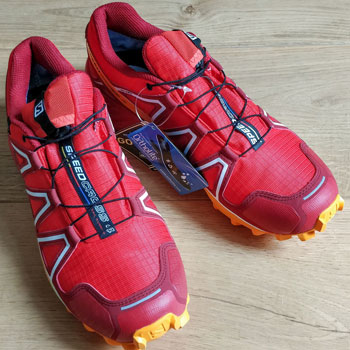 Salomon Speedcross 4 GTX with Tags
