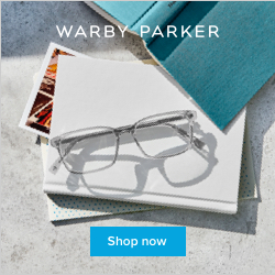 Warby Parker Reading Banner