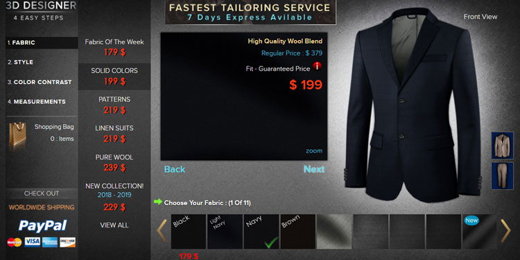 Best Online Custom Suits: Where To Buy A Made-To-Measure Suit