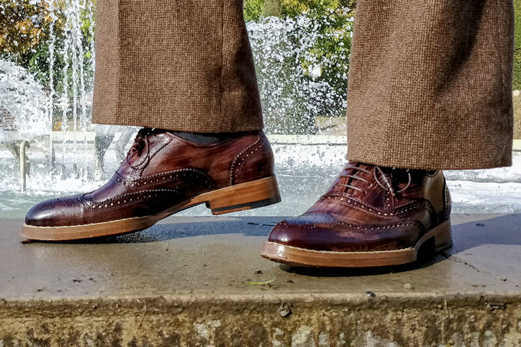 Maglieriapelle Pamukkale Review: Handcrafted Brogue Shoes Made In Turkey