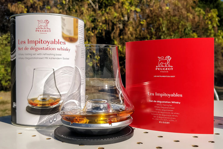 Peugeot Whisky Glass Review: Les Impitoyables N°5 With Chilling Base