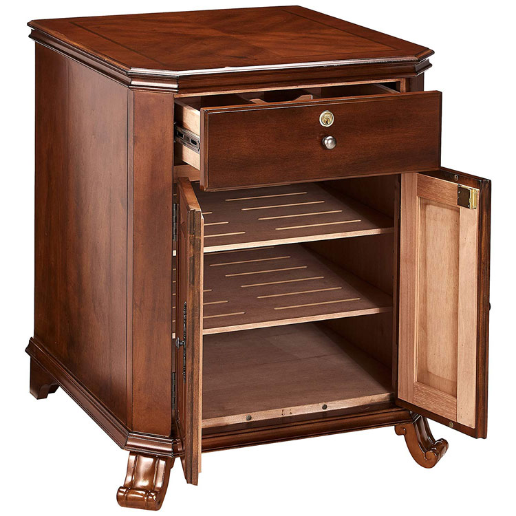 Quality Importers Montegue Cigar Cabinet