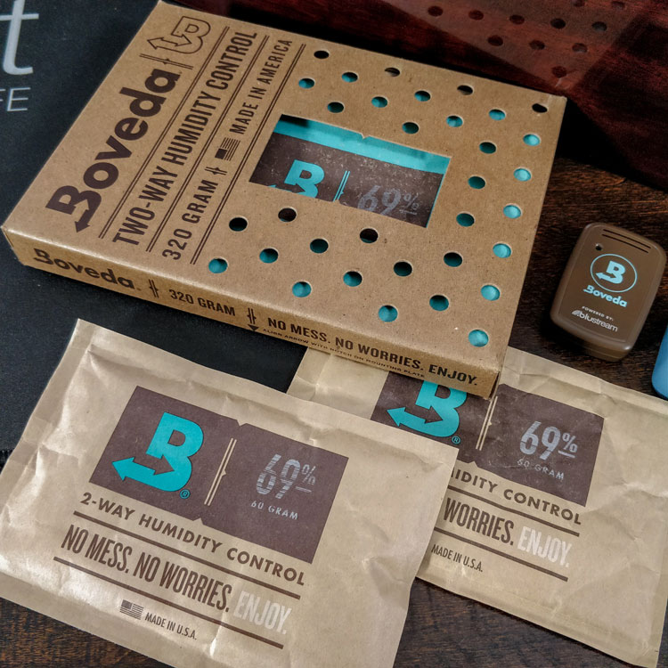 320g & 60g Boveda Humidity Packs