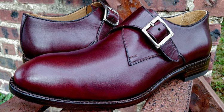 Beckett Simonon Leonard Single Monk Strap Shoes