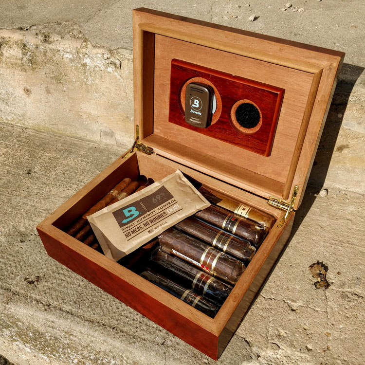 Cuban Crafters Small Cherry Humidor