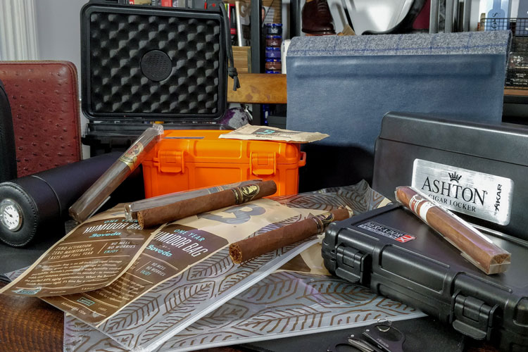 Different Cigar Travel Humidors